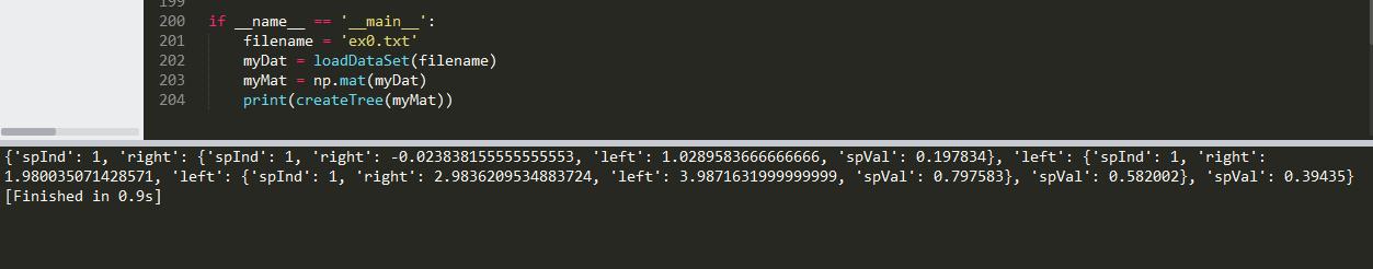 机器学习实战教程(十三):树回归基础篇之CART算法与树剪枝